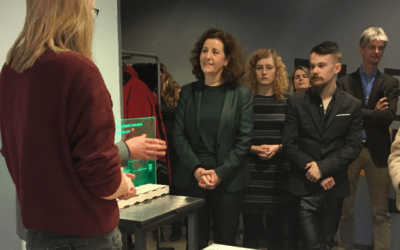 First Team Meeting and Official Opening of Enschede Lab with Minister